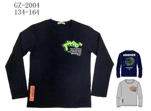 Chlapecké triko s dlouhým rukávem SEZON (134-164)