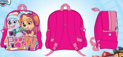 Dívčí batoh PAW (27cm X 30cm X 11cm)