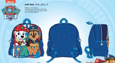 Chlapecký  batoh PAW (27cm X 30cm X 11cm)
