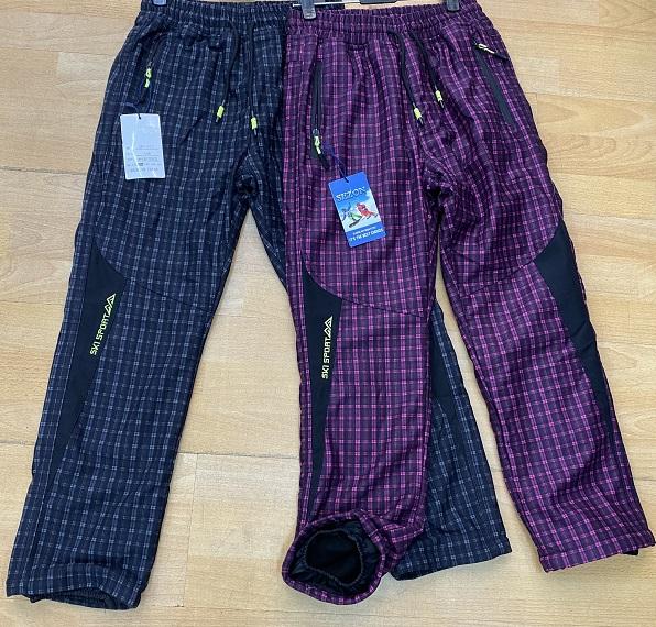 Dorostenecké zateplené kalhoty SEZON (134-164)