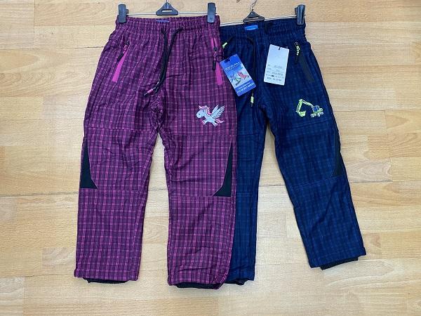 Dětské zateplené kalhoty SEZON (98-128)