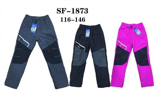 Zateplené šusťákové kalhoty  SEZON (116-146)