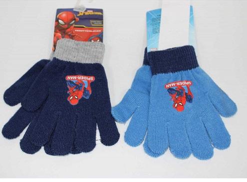 Chlapecké prstové pletené rukavice SPIDER MAN