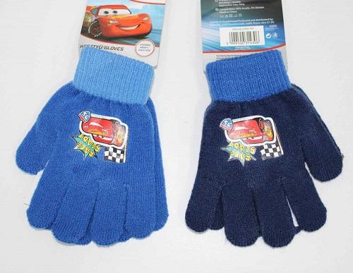 Chlapecké prstové pletené rukavice CARS(uni)