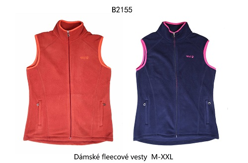 Dámská fleecová vesta  WOLF (M-2XL)