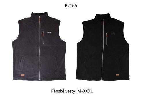Pánská fleecová  vesta  WOLF (M-3XL)