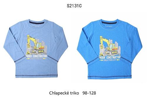 Chlapecké triko  s dlouhým rukávem WOLF (98-128)