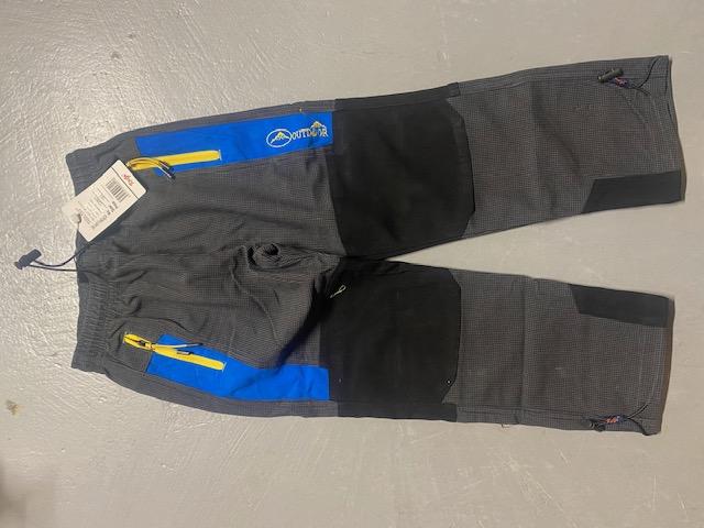 Chlapecké  outdoorové kalhoty KUGO (116-146)