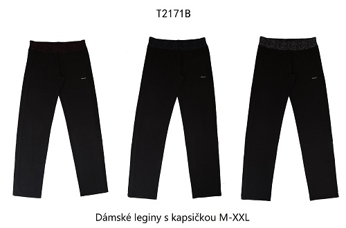 Dámské  legíny s kapsou WOLF (M-XXL)