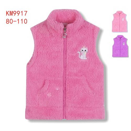 Dívčí fleccová vesta KUGO (80-110)
