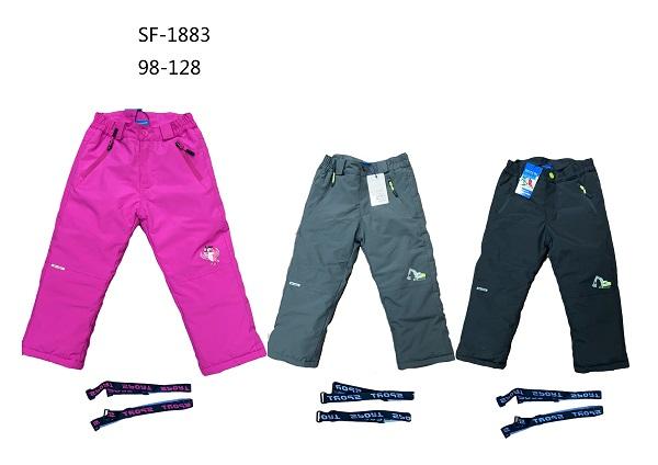 Dětské lyžařské kalhoty  SEZON (98-128)