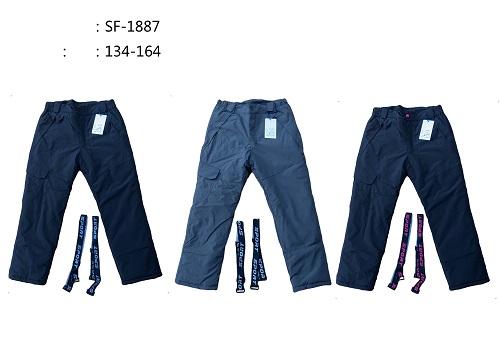 Dorostenecké lyžařské kalhoty  SEZON (134-164)