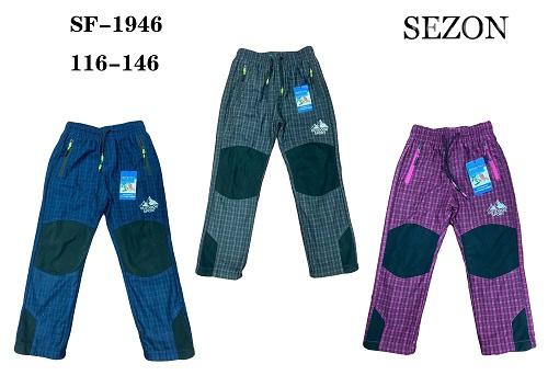 Dětské zateplené outdoorové kalhoty  SEZON (116-146)