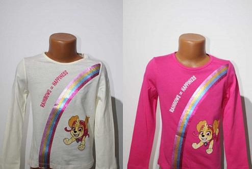 Dívčí triko PAW GIRL (98-116)