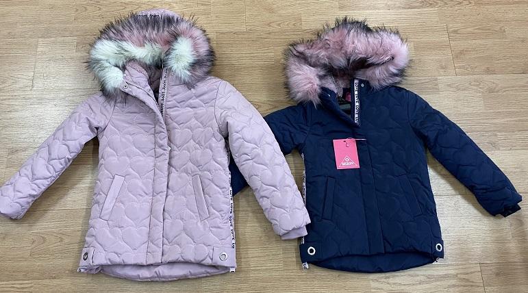 Dívčí zimní  bunda  SEZON  (3-8 let)