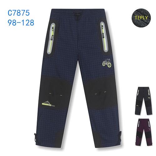 Dětské zateplené outdoorové kalhoty KUGO (98-128)