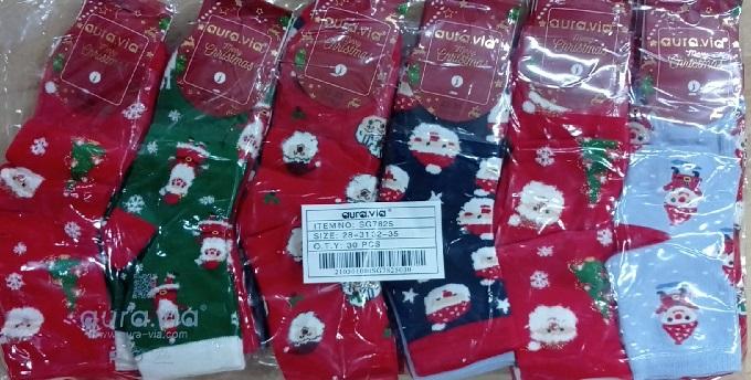 Dětské  vánoční ponožky AURA VIA (28-35)