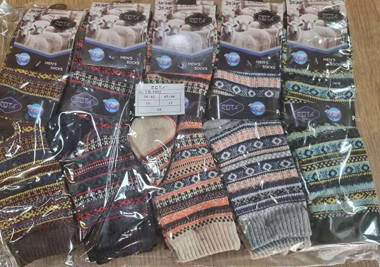 Pánské THERMO vlněné zdravotní ponožky ROTA  (39-46)
