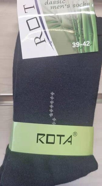 Pánské bambusové zdravotní ponožky ROTA  (39-46)