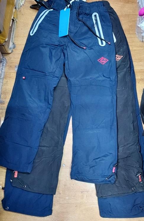 Zateplené šusťákové kalhoty GRACE (134-164)
