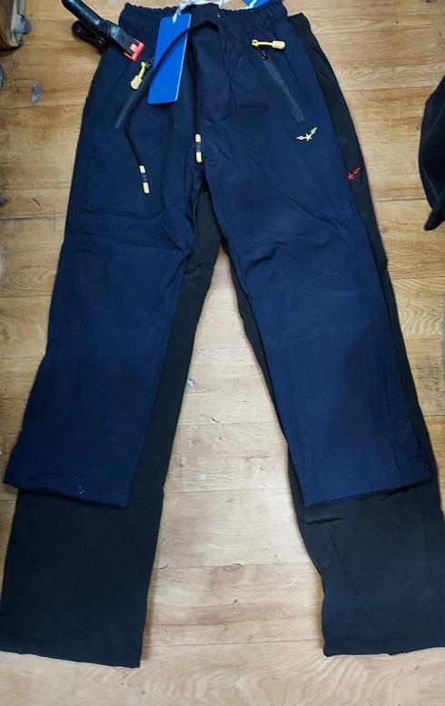 Zateplené šusťákové kalhoty GRACE (116-146)