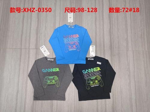 Chlapecké triko s dlouhým rukávem (98-128)
