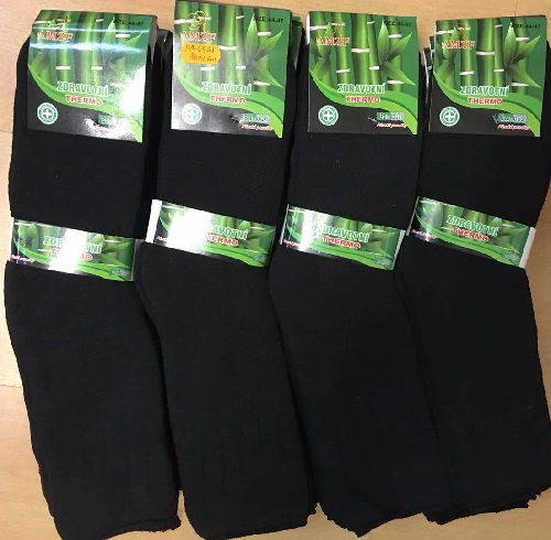 Pánské zdravotní thermo bambusové ponožky AMZF (40-47)