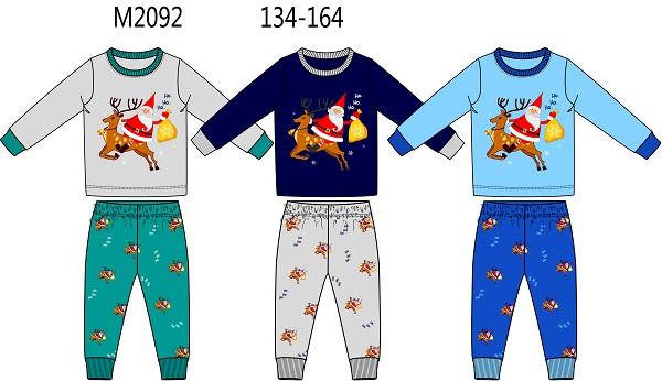 Chlapecké vánoční noční pyžamo SEZON (134-164)