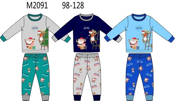 Chlapecké vánoční noční pyžamo SEZON (98-128)
