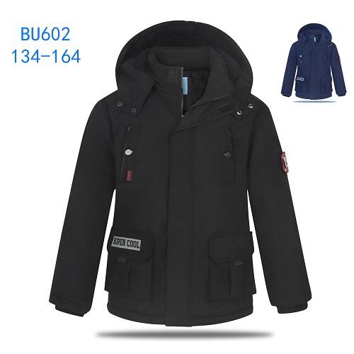 Chlapecká zimní  teplá  bunda KUGO (134-164)