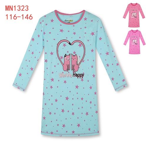 Dívčí noční košile KUGO (116-146)