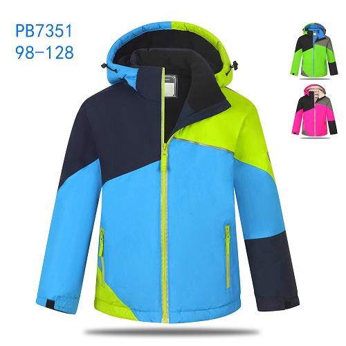 Dětská zimní teplá bunda KUGO (98-128)
