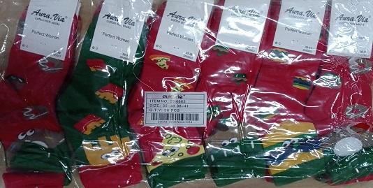 Dámské vánoční ponožky PERFEKT AURA.VIA (35-41)