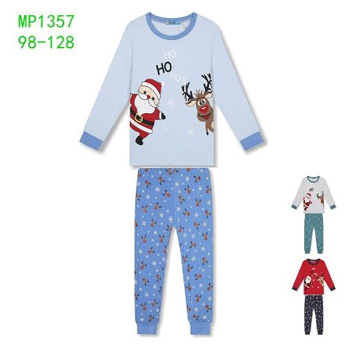 Dětské vánoční noční pyžamo KUGO (98-128)