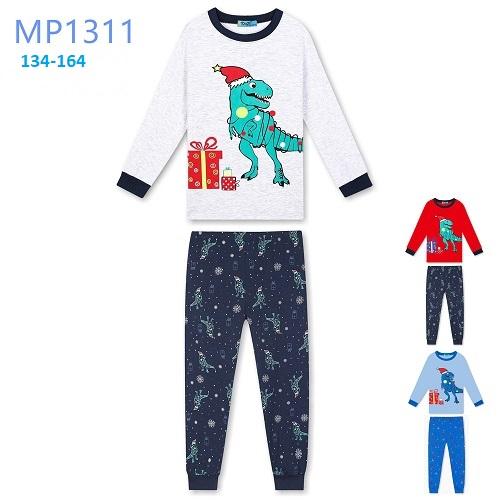 Dorostenecké vánoční noční pyžamo KUGO (134-164)