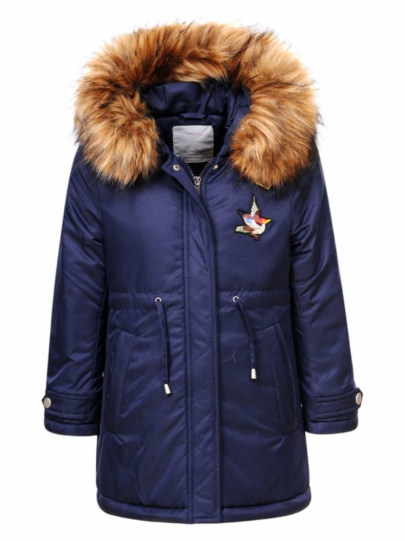 Dívčí zimní bunda/kabátek GLO-STORY (98-128)
