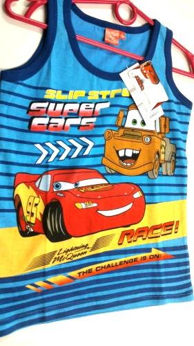 Chlapecké tílko CARS (98-128)