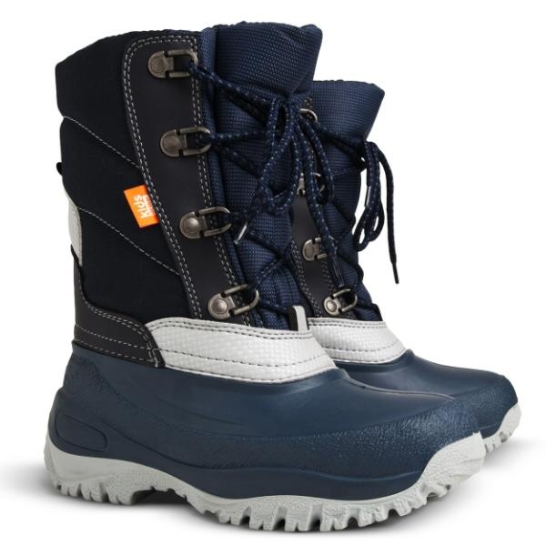 02469c42624 Dětské zimní sněhule DEMAR (25-35) tmavě modré empty