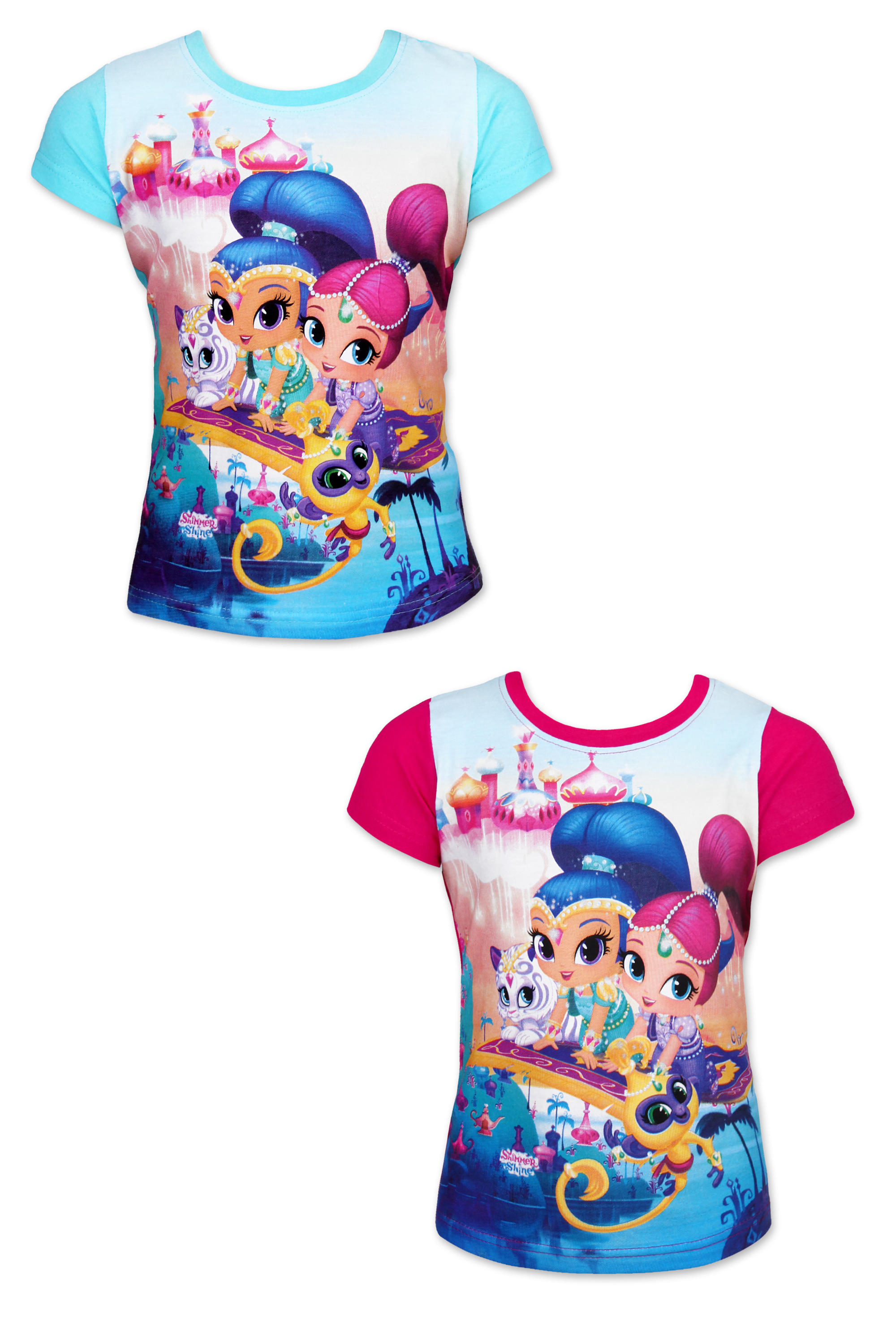 Dívčí triko  SHIMMER AND SHINE (92-116)