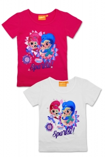 Dívčí triko SHIMMER AND SHINE (98-128)